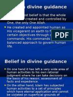Belief in Divine Guidance