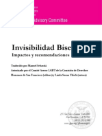 Bisexualidad Invisible