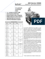 High Pressure Pump Data Sheets