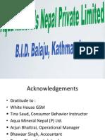 Aqua Minerals Nepal (P) Ltd by group A.ppt