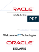 Solaris Admin 10 Online Training
