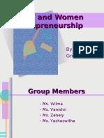 Rural and Women Enterpreneurship