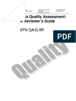 Data Quality Assessment a Reviewer's Guide