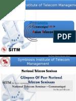 NTS Glimpses, Symbiosis Institute of Telecom Management