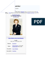 Margaret Thatcher Project