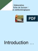 L_élaboration D_une Fiche de Lecture