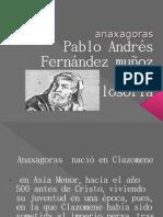 Pablo Andrés Fernández Muñoz 11 a Filosofía