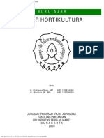 Buku Ajar Dasar Hortikultura