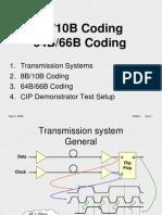 8B10B Coding