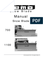 Operation Manual BA Snowplug 700&1100 (en) Oktober 04