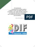 trabajo sobre el matrimonio dif manual.pdf