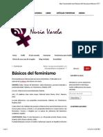 Básicos Del Feminismo