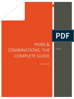 Pairs & Combinations FM2015