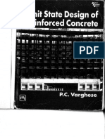 Reinforced Concrete Design Limit State - By Varghese P.C.