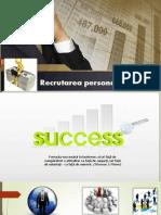 recrutarea personalului