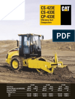 Caterpillar Small Landfill Compactors Cp Cs423e