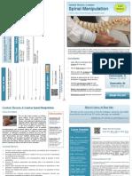 Spinal Manipulation Continuing Education - Vincennes/Carbondale/Evansville Brochure
