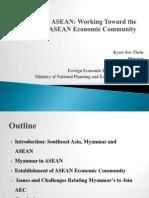 (25!2!2013) Myanmar in ASEAN