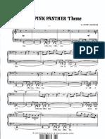 La Pantera Rosa Para Piano