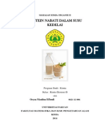 Makalah Organik -Protein nabati dalam susu kedelai.pdf