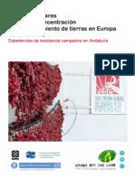 Informe Luchas populares frente a la concentracion y el acaparamiento de tierras en Europa