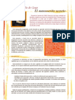 """Proyecto didáctico """"Tras la huella de Goya. El manuscrito secreto"""""""