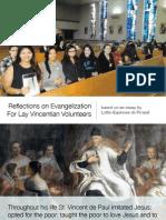 Evangelization for Lay Vincentians