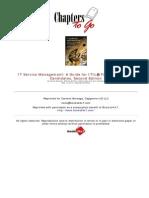 Service Portfolio Management