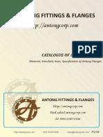 Catalogue of Antong Flange