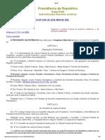 L5010 - Lei de Org Da Justiça Federal 1a Instância