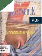 Hayamwuruk No.2-X-1996 Sejarah Sastra Indonesia Demitologi Balai Pustaka