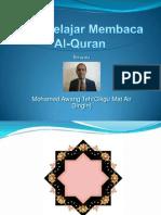 Mari Belajar Membaca Al Quran Bersama (1)