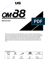 Olympus Om88 Om101 Instructions