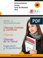 Fichas Universidades 2011-2012 Madrid