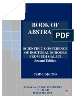 Book of Abstracts 2014