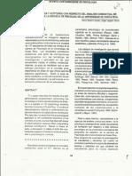 Conocimientos y Actitudes Sobre El Analisis Conductual