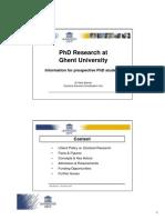 20111208_infosessie_prospective PhD Students -Compatibiliteitsmodus