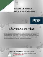 Valvulas de Vias en Neumatica y Aplicaciones