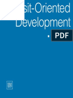 Transit Oriented Development Opt