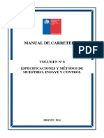 Manual de Carreteras Chile