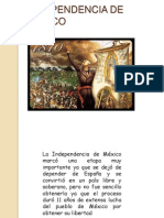 A Indepencia de México por etapas.pptx
