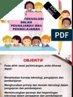 Topik 1-Konsep Teknologi Pengajaran