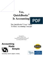 Yes QuickBooks is Accounting