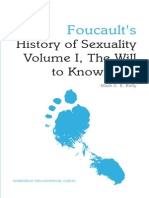 Foucault's 'History of Sexuality Volume I, The Will to Knowledge'