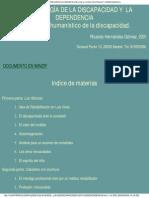 Antropología de La Discapacidad Hernández Gómez