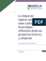 La Integración Regional Ante Un Nuevo Cambio de Paradigma