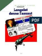 Lieutenant X Langelot 40 Langelot donne l'assaut 1986.doc