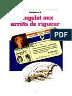 Lieutenant X Langelot 38 Langelot aux arrêts de rigueur 1984.doc