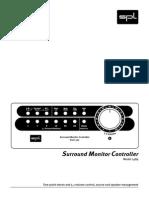 Spl Surround monitor controller manual