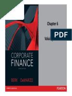 corporate finance - Ch 6, 7  8